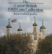 1983 Brilliant Uncirculated Coin Collection year set